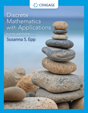Discrete Mathematics with Applications Fifth Edition by Susanna S. Epp