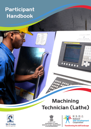 Machining Technician Lathe, Lathe Machine Handbook