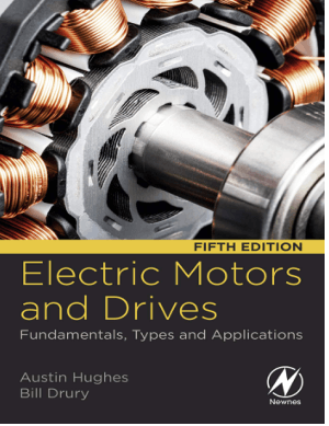 Electric Motors and Drives Fundamentals, Types and Applications 5th Edition by Austin Hughes and Bill Drury