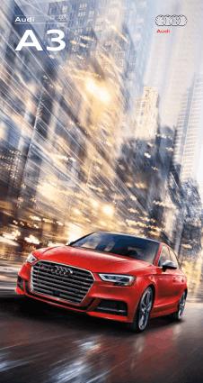 2017 Audi A3 Car Owners Manual