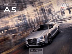 2017 Audi A5 Car Owners Manual