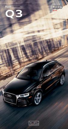 2017 Audi Q3 Car Owners Manual
