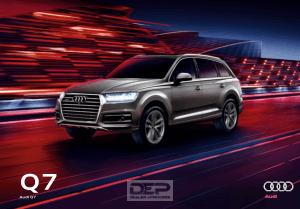 2017 Audi Q7 Car Owners Manual