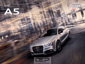 2017 Audi S5 Car Owners Manual PDF