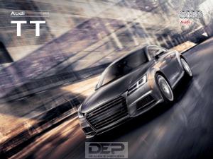2017 Audi Tts Car Owners Manual