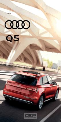 2019 Audi Sq5 Car Owners Manual