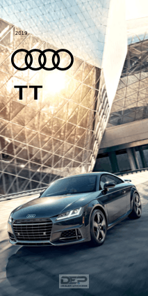 2019 Audi Tt Car Owners Manual