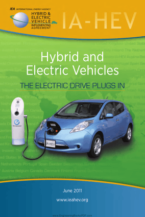 Hybrid and Electric Vehicles The Electric Drive Plugs In