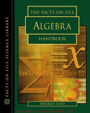 The Facts on File Algebra Handbook By Deborah Todd