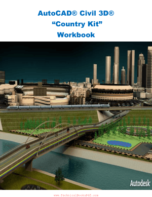 AutoCAD Civil 3D Country Kit Workbook