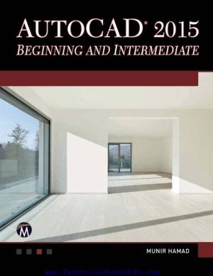 Autocad2015 Beginning And Intermediate