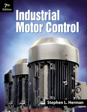 Industrial Motor Control 7th Edition by Stephen L Herman