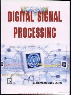 Digital Signal Processing By Ramesh Babu