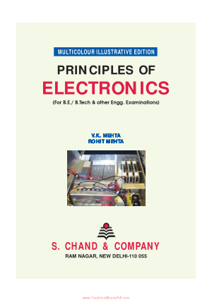 Principles Of Electronics Multicolor Illustrative Edition By V K Mehta And Rohit Mehta