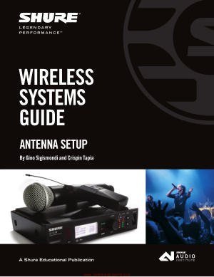 Wireless Systems Guide for Antenna Setup