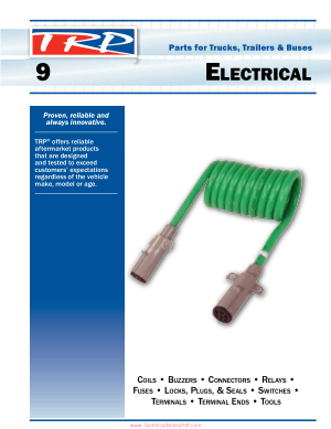 Electrical Parts for Trucks, Trailers and Buses