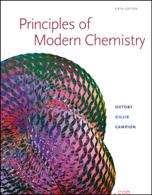 Principles of Modern Chemistry, 6th Edition