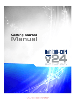 BobCAD CAM Getting Started Manual