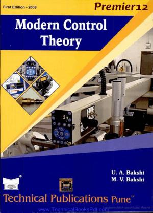 Modern Control Theory pdf