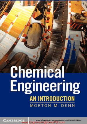 Chemical Engineering An Introduction