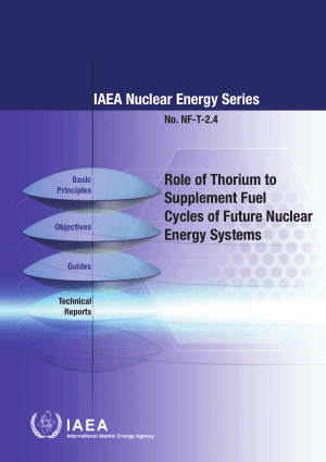 Role of Thorium to Supplement Fuel Cycles of Future Nuclear Energy Systems