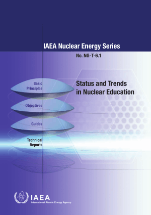 Status And Trends In Nuclear Education