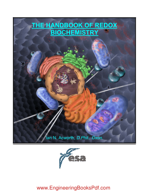 The Handbook Of Redox Biochemistry