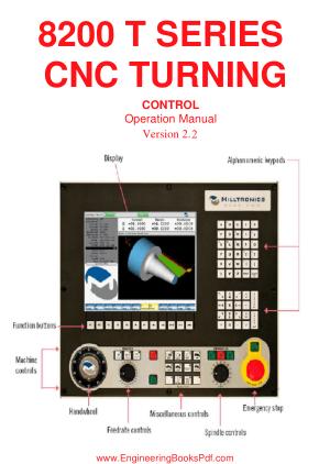 8200 T Series CNC Turning Control
