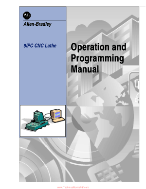 9 Series CNC Lathe Operation and Programming Manual