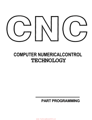CNC Computer Numerical Control Technology
