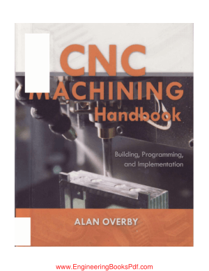 CNC Machining Handbook by Alan Overby