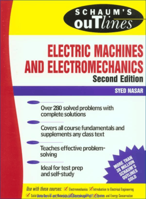 Theory and Problems of Electrical Machines and Electro Mechanics Second Edition pdf