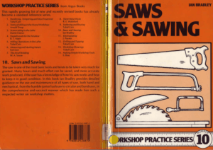 Workshop Practice Series 10 Saws and Sawing