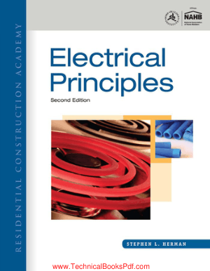 Electrical Principles Second Edition By Stephen L Herman