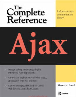 Ajax The Complete Reference