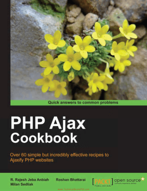 PHP, Ajax Cookbook