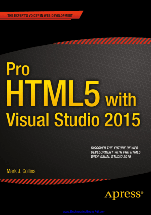 Pro HTML5 with Visual Studio By Mark J Collins