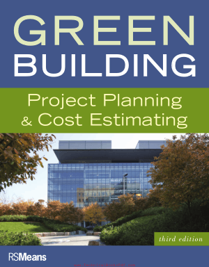 Green Building  Project Planning and Cost Estimating 3rd Edition