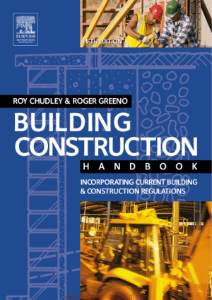 Building Construction Handbook Fifth Edition By R Chudley and R Greeno