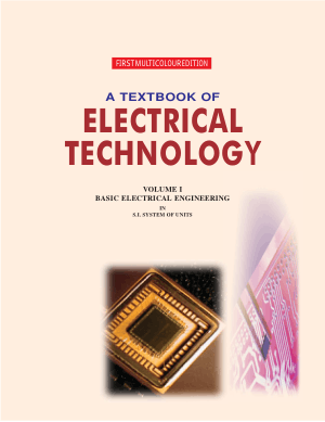 A Textbook of Electrical Technology Volume I Basic Electrical Engineering