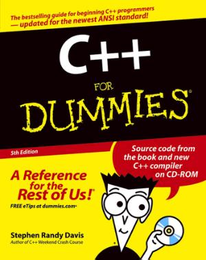 C++ for Dummies 5TH Edition by Stephen Randy Davis