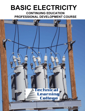 Basic Electricity Continuing Education Professional Development Course