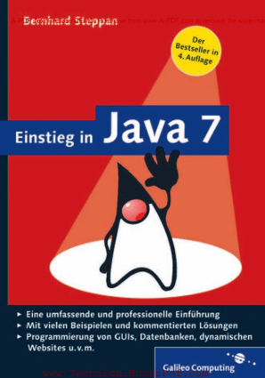 Einstieg in Java 7 By Bernhard Steppan