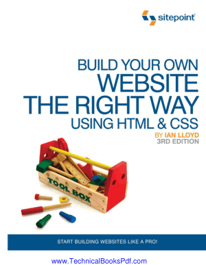 Build Your Own Website The Right Way Using HTML, CSS 3rd Edition
