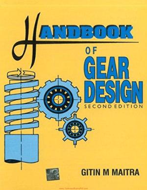 Handbook Gear Design 2nd Edition By Gitin M Maitra