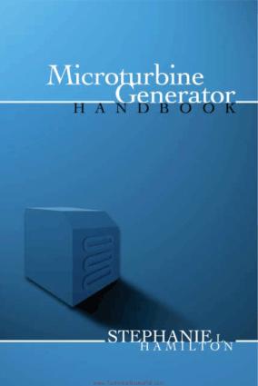 The Handbook of Microturbine Generators By Stephanie L Hamilton