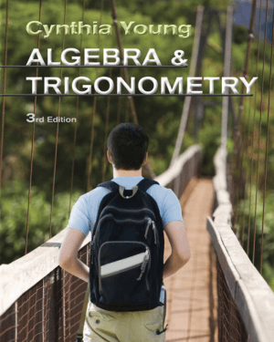 Algebra and Trigonometry Third Edition By Cynthia Y Young