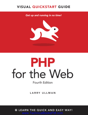 php for the web visual quickstart guide 4th edition2011bbs