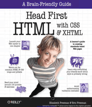 Head First HTML with CSS, XHTML