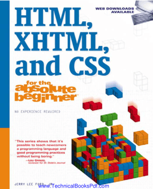 HTML XHTML and CSS for the Absolute Beginner